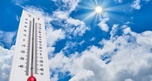 درجات الحرارة المتوقعة خلال الأيام القادمة