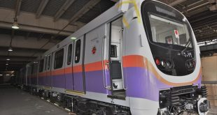 وصول القطار الكوري التاسع للخط الثاني للمترو