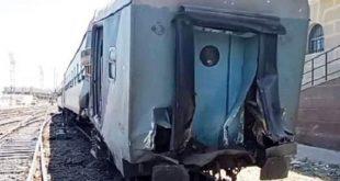 حالتان حرجتان من بين إصابات قطار الإسكندرية