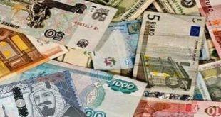 تباين أسعار العملات العربية والأجنبية اليوم الأحد